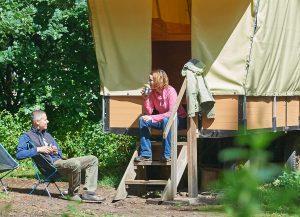 Planwagen im Schaalsee-Camp